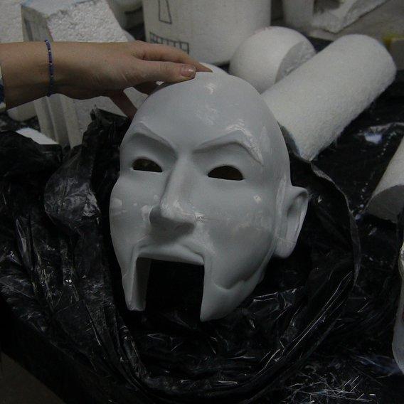 Zoltar head 3d print WIP