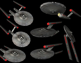 Star Trek - TOS Shipcollection - Lowpoly 3D model