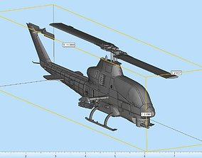 3D printable model AH-1W Super Cobra Highly
