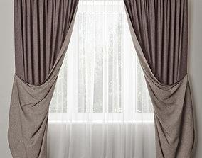 3D model curtain 19