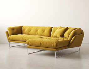 3D model New York Corner Sofa