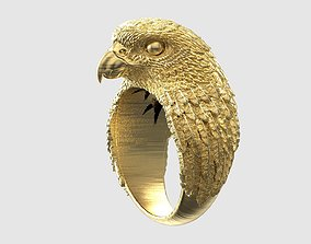 Falcon ring high detail 3D print model