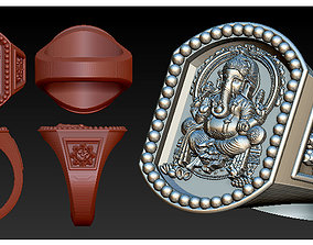 LORD Ganesh Ring1 3D printable model