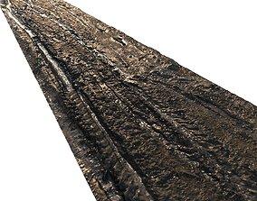 Dirt road material 05 3D model