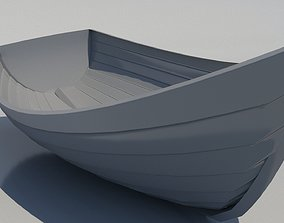 VR / AR ready boat 3d model