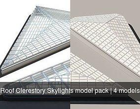 Roof Clerestory Skylights model pack