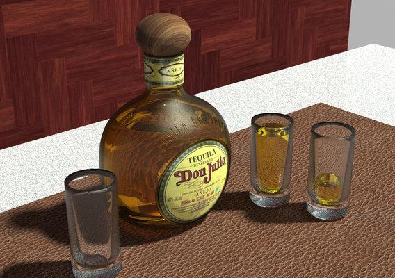 Tequila Don Julio Reserva Añejo (Classic Old school bottle)