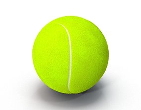 Tenis Ball FurFurry 3D model