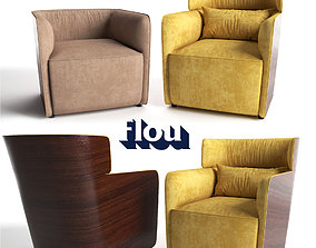 3D printable model Armchair Flou Softwing