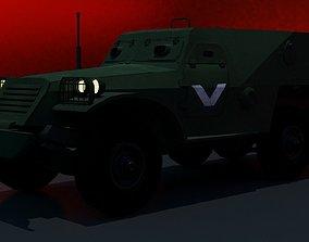 BTR 152 3D asset VR / AR ready