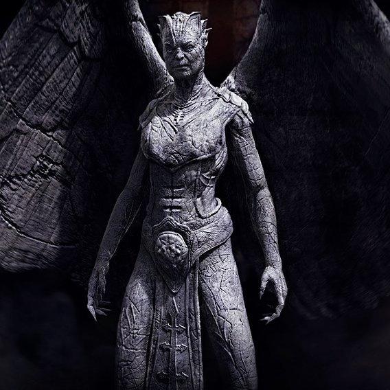 I Frankenstein - Gargoyle Queen final design