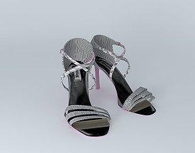 3D model DUNE Wrap Over Strap Sandal No. 4