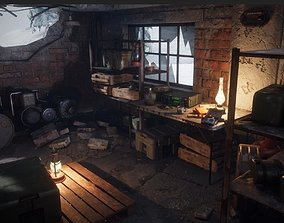 Post Apocalyptic Props Pack Unreal Engine 3D asset