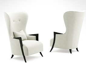 Christopher Guy Honore armchair 3D