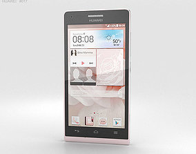 Huawei Ascend G6 Pink 3D
