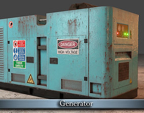 3D asset low-poly PBR Generator