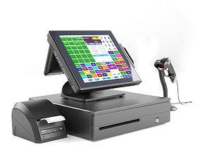 3D Online POS terminal Posiflex XT5515