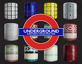 London Underground Substance Collection 1 3D model
