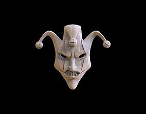 Mask face relief 3D print model