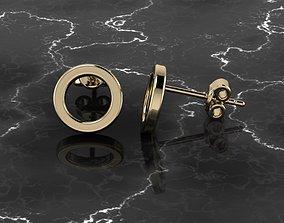 3D print model Jewelry Earring Round Shape