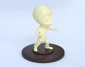 Karate Chibi - printable character