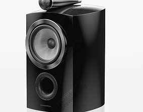 Bowers and Wilkins 805 D3 Gloss Black 3D model