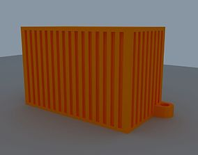 key chain container 3D print model