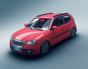 3D model Hatchback Car 2