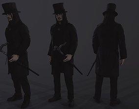 3D model VR / AR ready Necromancer