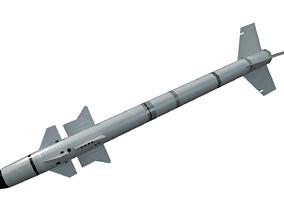 3D asset R550 Magic Missile