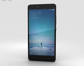3D Xiaomi Redmi Note 2 Black