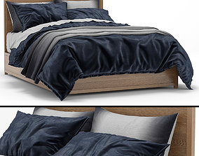 RH Teen Laguna bed b 3D model
