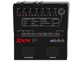 Guitar Effects Pedal - Processor - Art Xtreme 3D model
