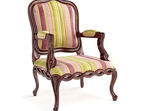 3D model Multi Color Chair