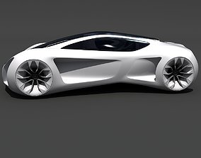 3D model Mercedes Benz Biome Concept Car