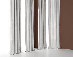 various-models Curtain 007 3D model
