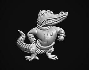 Albert the Gator 3D printable model