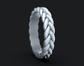 Braid Ring 3D printable model