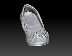 Female Flats Shoe 3D Scan