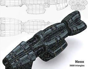 realtime 3DRT - Sci-Fi Norad Battleship - Neox