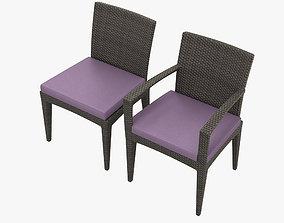 3D model Dedon Panama Chair