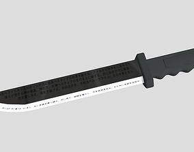 3D asset Hestia Knife - DanMachi
