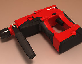 3D model Hilti TE2A battery drill