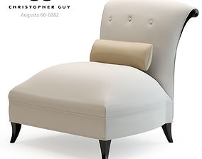 3D Christopher Guy Augusta Slipper Chair