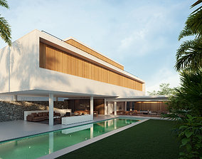 House 6 -mk27 - Exterior 3D
