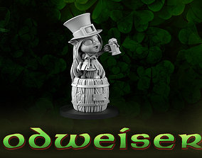 Bloodweiser saint patrick 3D printable model