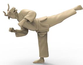 3D printable model Ox Back Kick
