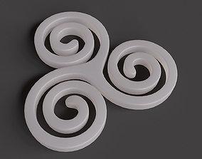 3D printable model Triskele