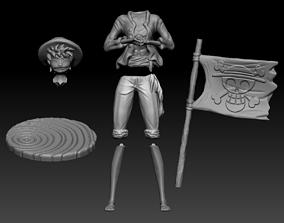 Luffy 3D print model