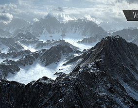Mountain Snow 3D